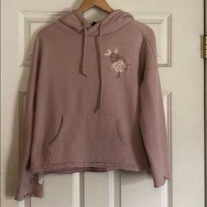 Betsey Johnson embroidered  hoodie